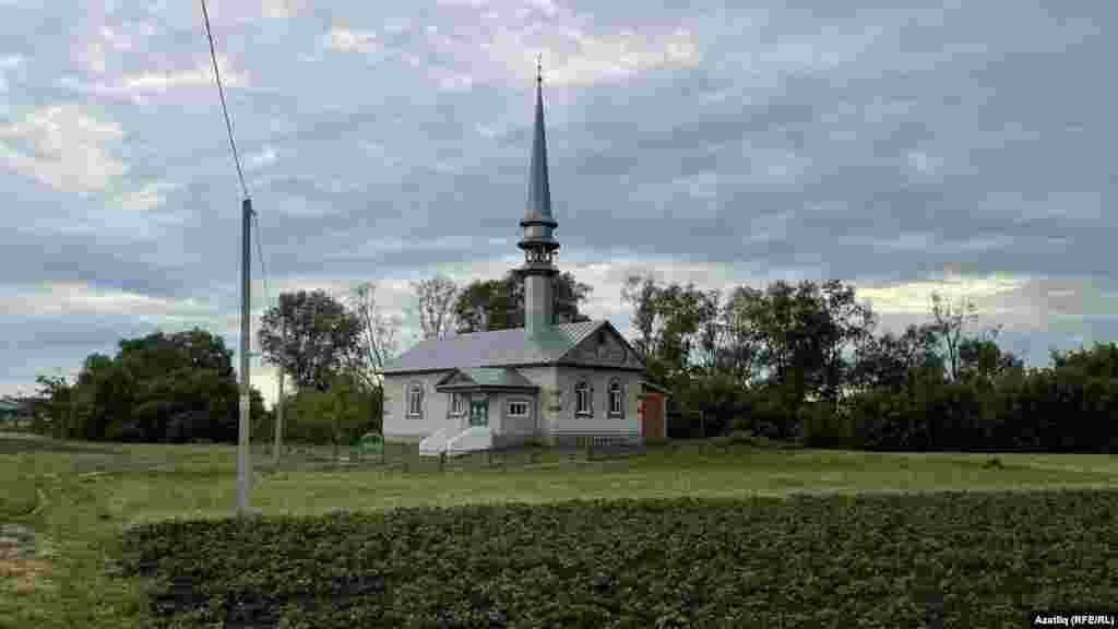 Мечеть в селі