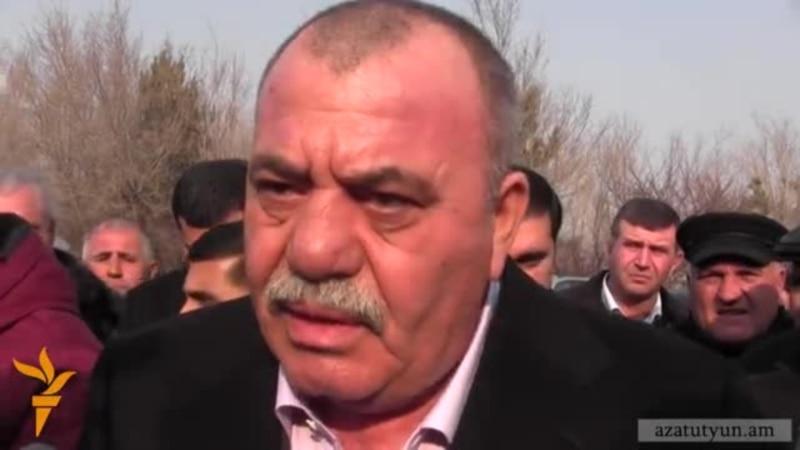 Manvel Grigoryan@ qnnadatum e poghoc durs ekats azatamartiknerin. Nranq hakadardzum en