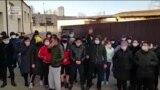 Москвада аэропортто турган мекендештердин кайрылуусу