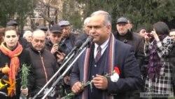 Րաֆֆի Հովհաննիսյան. «Նրանք զոհ գնացին ազատության համար»