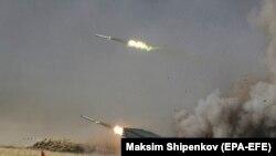 تمرینات نظامی روسیه