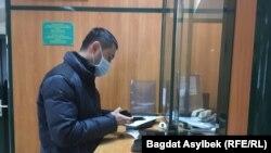 Альнур Ильяшев в банке.
