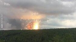 У Росії горить склад боєприпасів: місцевих евакуйовують – відео