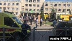 Un adolescent a deschis focul într-o școală din Kazan, Rusia