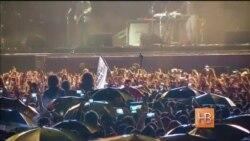 У Ерэване ў цэнтры горада выступіў гурт System of a Down