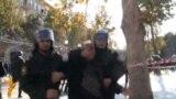 Police Disperse Demonstration In Baku