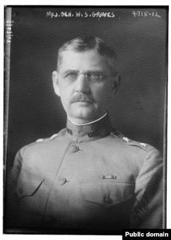 Генерал Уильям Грейвс. 1918 г.
