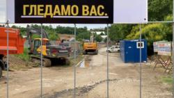 Stanari zaustavili bagere u Novom Beogradu: 'Treba nam sunca'
