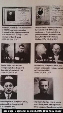 Victime ale represiunilor sovietice în 1940-1941 (Sursă: Igor Cașu, Dușmanul de clasă, 2013)
