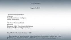 «Президент оказывал давление». Что написал сотрудник разведки в жалобе на Трампа?