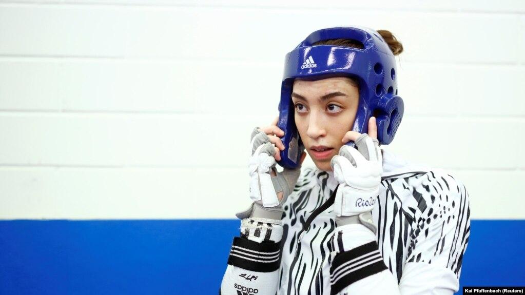 کیمیا علیزاده زیر پرچم سفید در المپیک توکیو شرکت میکند