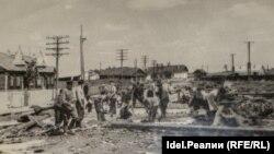 Архивное фото, предоставлено бывшими узниками