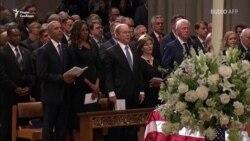 Прощальні промови Обами і Буша на похованні Маккейна у Вашингтоні – відео