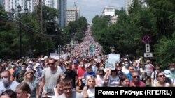 Хабаровск, 19 июля 2020