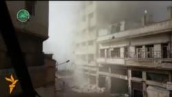 Войскі Башара Асада адбіваюць у паўстанцаў пазыцыі