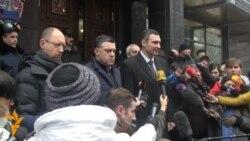 Опозиція закликала прокуратуру покарати винних у силовому розгоні Євромайдану