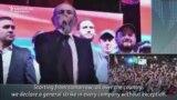 Pashinian Calls For General Strike In Armenia