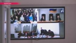 В Киеве судят Януковича по видеосвязи. Но есть проблемы (видео)