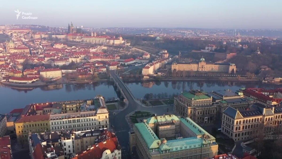 Пандемия в Праге: улицы фактически пусты – видео