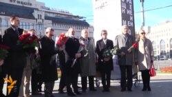 Ceremonia përkujtimore për viktimat e diktatorit Josef Stalin