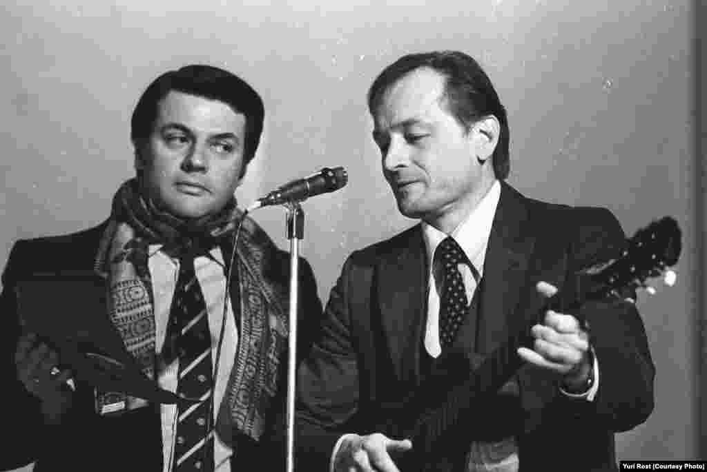 Александр Ширвиндт и Михаил Ножкин.