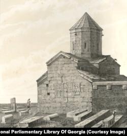Церковь в Ахалцихе на юге Грузии.