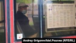Летом в казанских автобусах голосовали