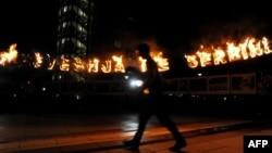 Protestat e Lëvizjes vetëvendosje kundër marrëveshjeve me Serbinë