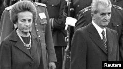Prezident Nicolae və Elena Ceausescu, 14Okt1988