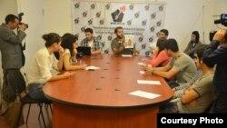 «Nida» vətəndaş hərəkatının internet saytının təqdimatı keçirilib