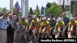 Azerbaijan -- bicycle tour