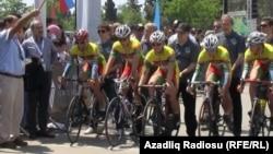 Bakıda velotur, 9 may 2012