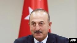 Թուրքիայի արտգործնախարար Մևլութ Չավուշօղլուն, արխիվ: