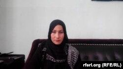 نوریه نوید رئیس یک گروه بیست و پنج نفری زنان حامی حقوق زنان در غور