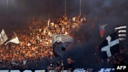 Tribina FK Partizana, arhivska fotografija