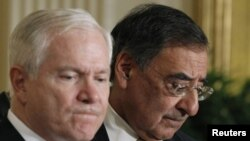 Американскиот секретар за одбрана Роберт Гејтс и директорот на ЦИА Леон Панета