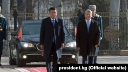 Церемония иннаугурации президента Сооронбая Жээнбекова. 24 ноября 2017 года.