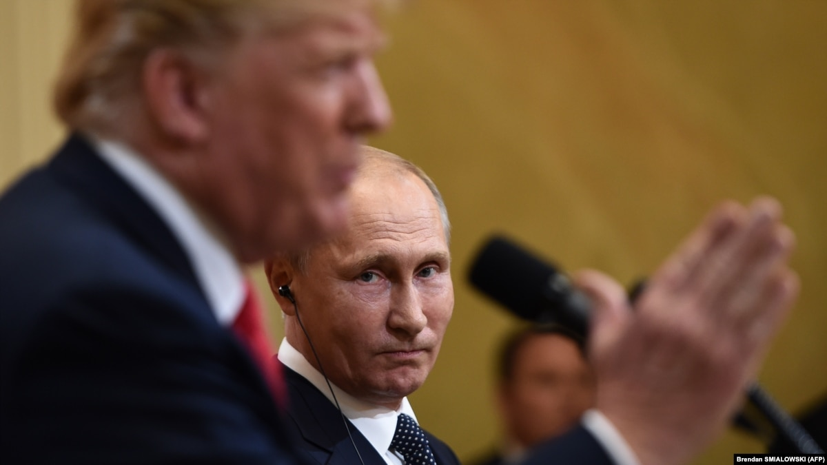 Президент  выпал из повестки. Дональд Трамп отменил переговоры с Владимиром Путиным