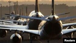 """Самолети на """"Луфтханза"""" приземени на летището във Франкфурт"""