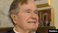 АҚШнинг собиқ президенти катта Жорж Буш.