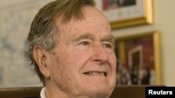 Ish-presidenti i Shteteve të Bashkuara, George H.W. Bush.