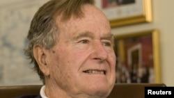 Ish-presidenti i SHBA-së, George H.W. Bush.