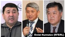 Кубанычбек Кадыров, Эрнест Карыбеков жана Бектур Асанов