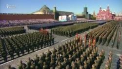 Moskvada hərbi parad