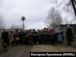 Акция организации жертв политических репрессий против установки памятника Дзержинскому в Кирове