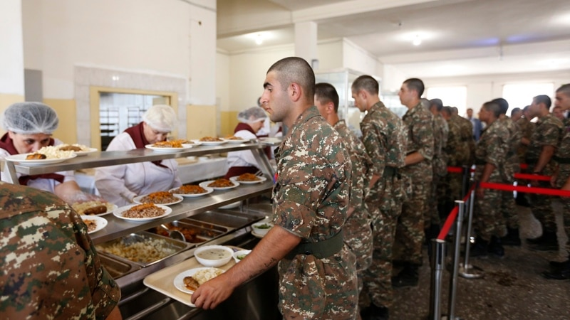 Armenian Army Switching To Private Canteen Services