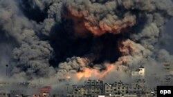 نمایی از جنگ غزه در سال ۲۰۱۴