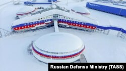 """The Kremlin has undertaken a """"robust"""" Arctic militarization plan, reoccupying seven former Soviet bases in the region, according to the U.S. Department of Defense. (file photo)"""