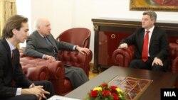 Средба на Претседателот Ѓорге Иванов со амбасадорот на ОН Метју Нимиц