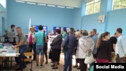 Костромадагы добуш берүү. 13-сентябрь, 2015-жыл.